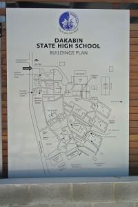 Plan der Schule