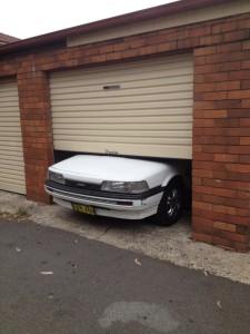 Da passt der Gerät nicht in das Garage - Australier muss man nicht verstehen